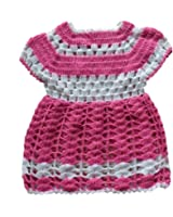 The Creators Baby Girls' Sweater (6-12 Months, Pink)