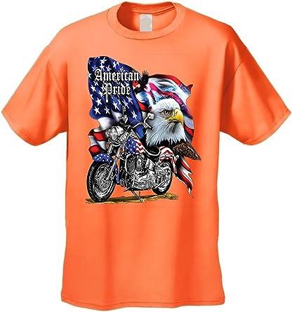 Men/'s//Unisex T Shirt Bald Eagle American Pride Short Sleeve Tee