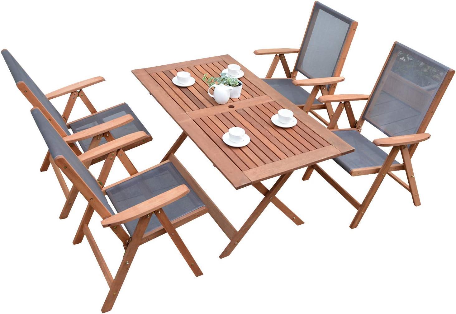 山善 ガーデンマスター フォールディングテーブル&チェア