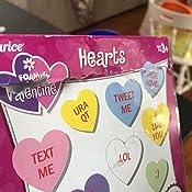 1 Pack ArtVerse 106-D785 Foam Sticker Bucket Conversation Hearts None 4 oz
