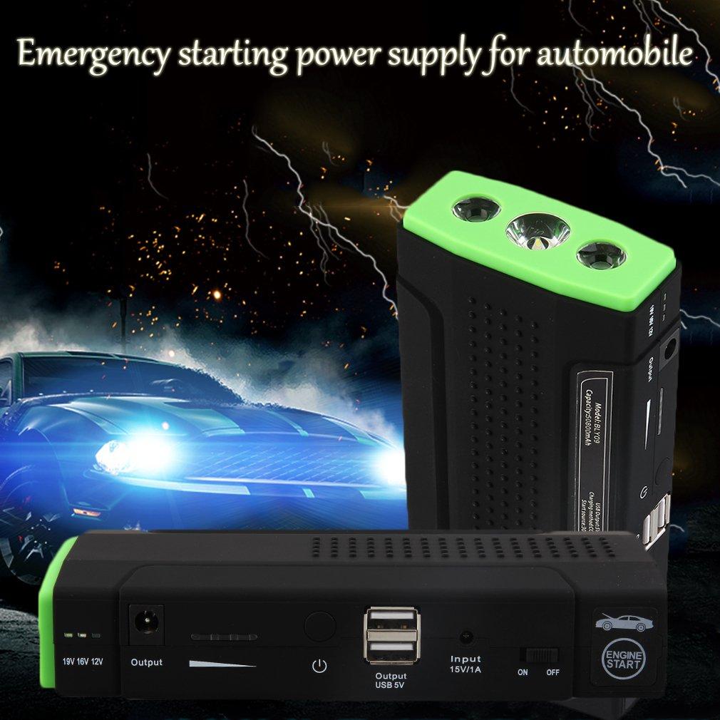 YTYC 50800mAh 12V Car Emergency Start Power Bank Vehicle Jump Starter Booster