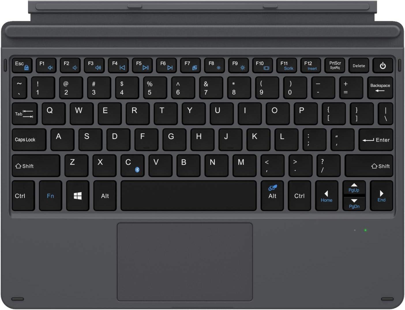 MoKo Surface Go Teclado Inalámbrico Bluetooth - Ultra-Slim Wireless Keyboard (QWERTY) para Surface Go 2 2020 / Surface Go 10