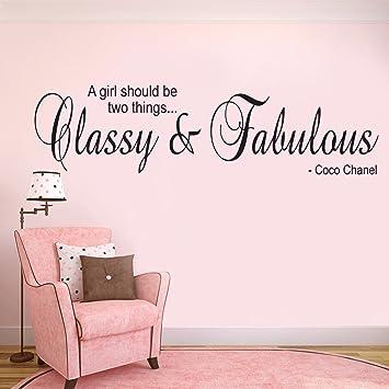 Autocollant Art Coco Chanel