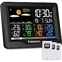 Kalawen Station météo avec capteur extérieur intérieur et extérieur