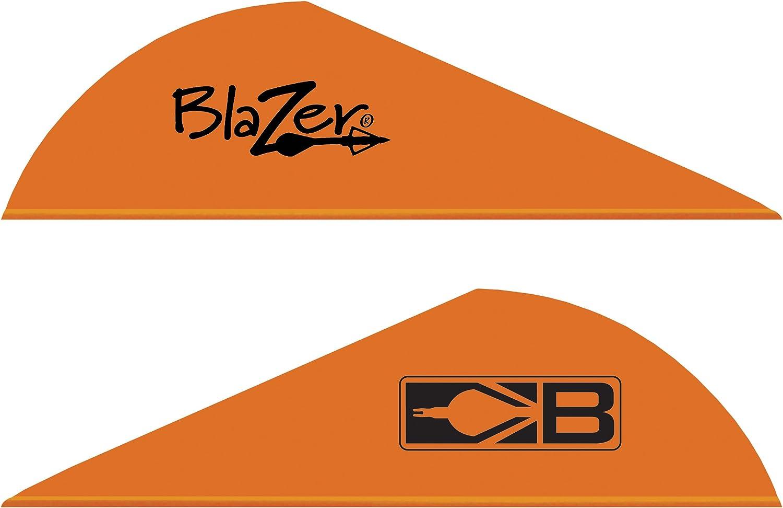 100-Pack Bohning Blazer X2 Archery Vane Neon Yellow