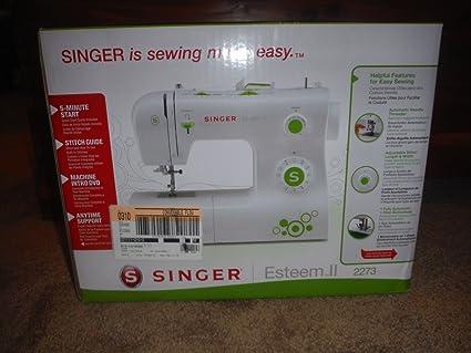 Amazon Singer Esteem II Sewing Machine 40 Stunning Singer Sewing Machine 2200 Series
