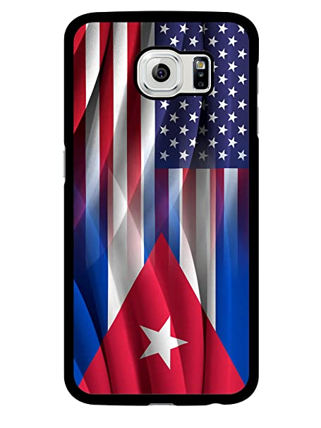 407Case Compatible with iPhone XR Cuban American Flag Hybrid Rubber Protective Case (iPhone XR)