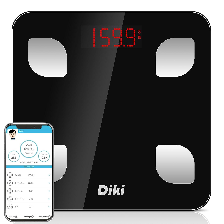 Báscula de Baño Digital Bluetooth con APP por IOS y Android, 5-150KG