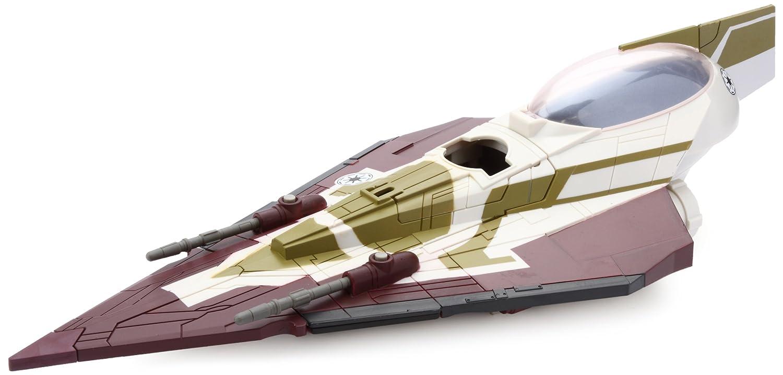 Star Wars Hasbro Naves Kit Fistos Jedi Starfighter - Nave espacial de juguete de La Guerra de las Galaxias: Amazon.es: Juguetes y juegos