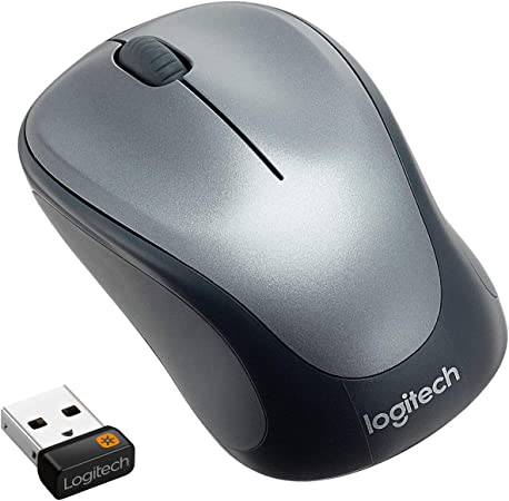 Logitech M235 Ratón Inalámbrico, 2,4 GHz con Receptor USB Unifying, Seguimiento Óptico 1000 DPI, Batería 12 Meses, PC/Mac/Portátil/Chromebook - Negro