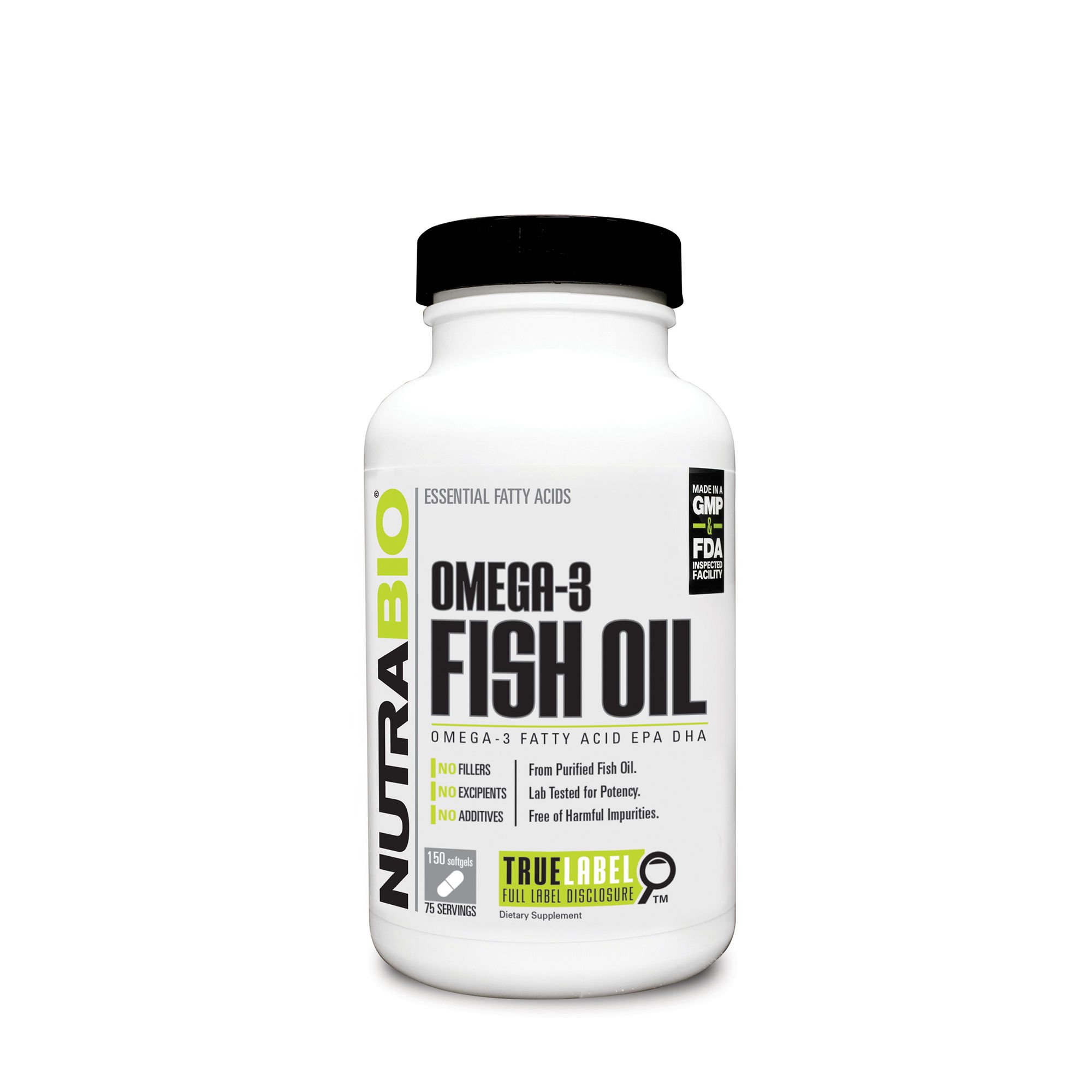 Nutrabio coq10 100 mg 60 vegetable capsules for Coq10 and fish oil