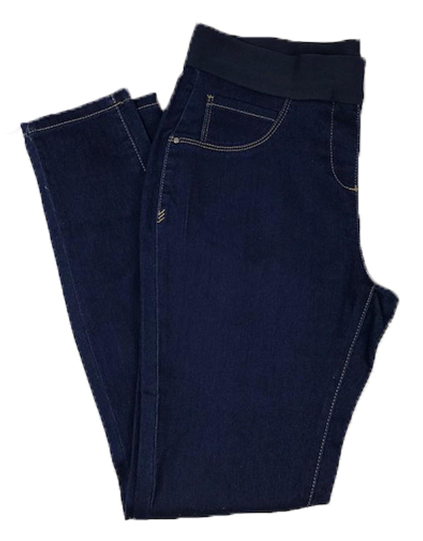 Ex Stock - Major Store EX Stores Jeggings Elasicated Waist Stretch Denim Skinny Jeans Trousers UK8-22