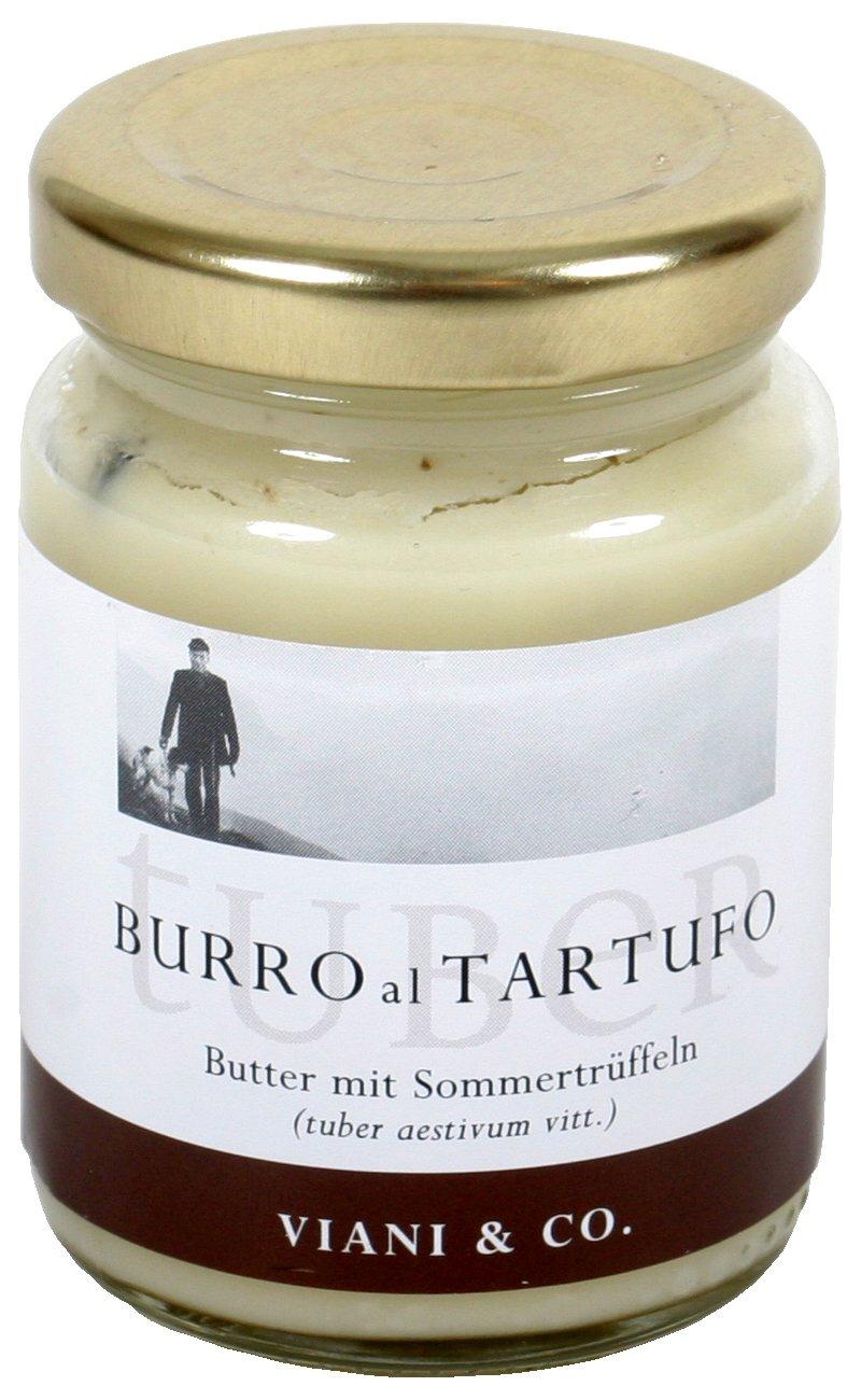 Viani Trüffelbutter mit Sommertrüffeln, 80g: Amazon.de: Lebensmittel ...