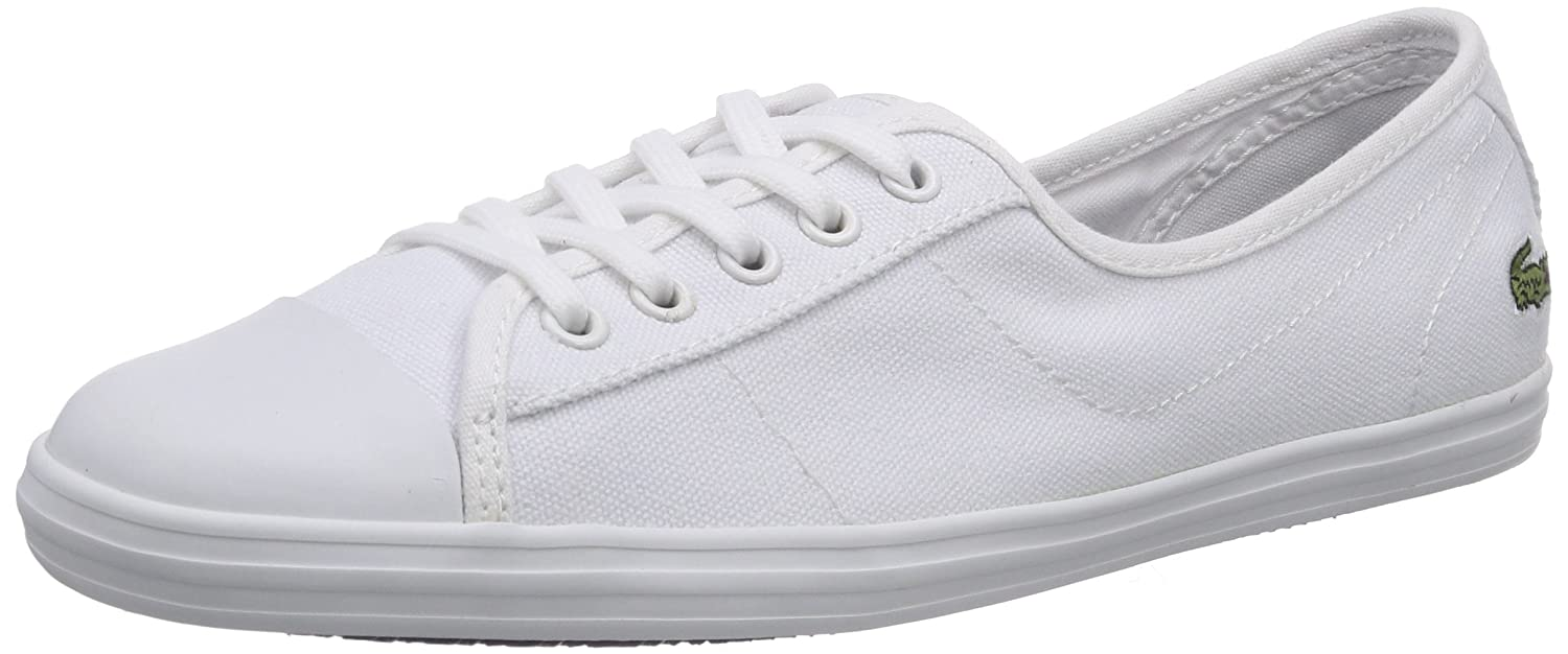 a50f5366098720 Lacoste Women s ZIANE LCR2 Trainers Blue blue Off White Size  8   Amazon.co.uk  Shoes   Bags