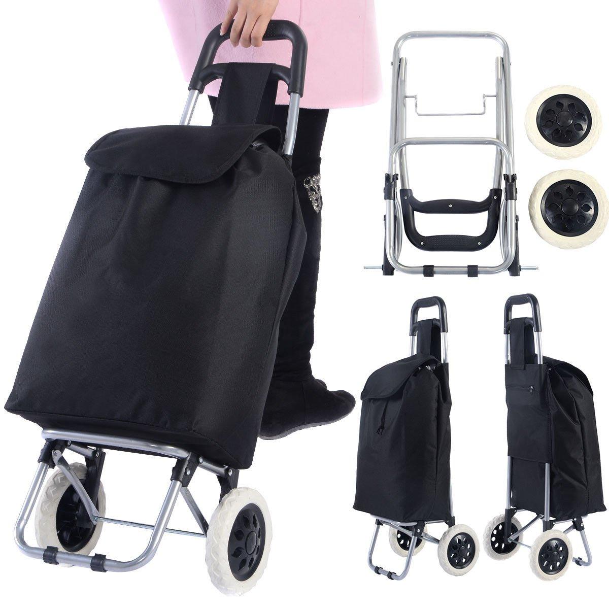 Generic ** Trolley Cart Bag Cart Bag rt Bag Wheeled: Amazon