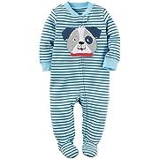 Carter's Baby Boys' Interlock 115g225, Blue, 3M