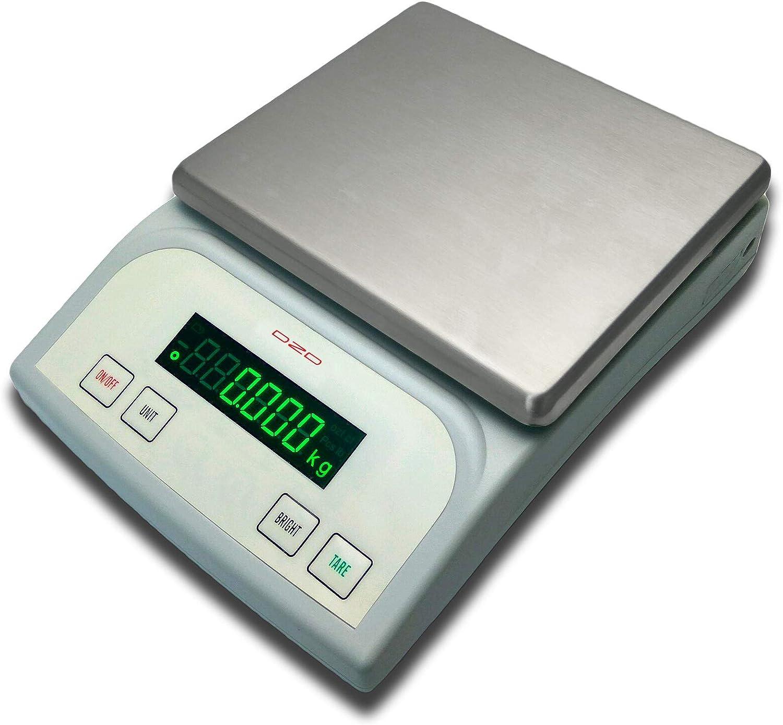 DZD DJKA Briefwaagen Digitalwaagen Versionen mit 20kg oder 40kg und 1g oder 0,1g Feinmessbereich DJ40KA