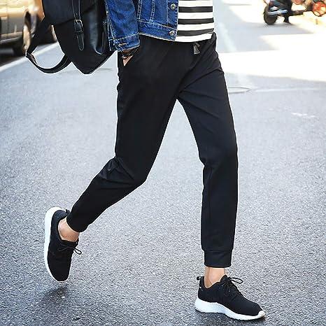 703ca2ab8c373 WINWINTOM,Homme Ceinture élastique à Long Coton Jogging Pantalons de ...