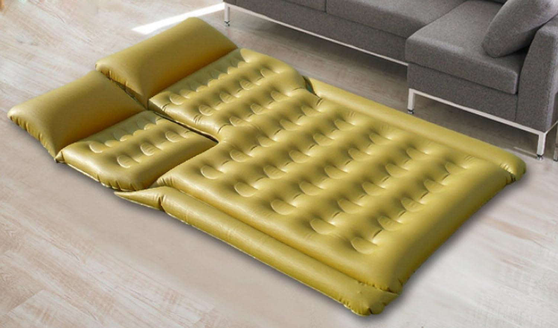 ERHANG Luftmatratzen Luftbetten Betten Luftmatratzen Aufblasbares Bett Reisebett Für Zwei Personen,Gold