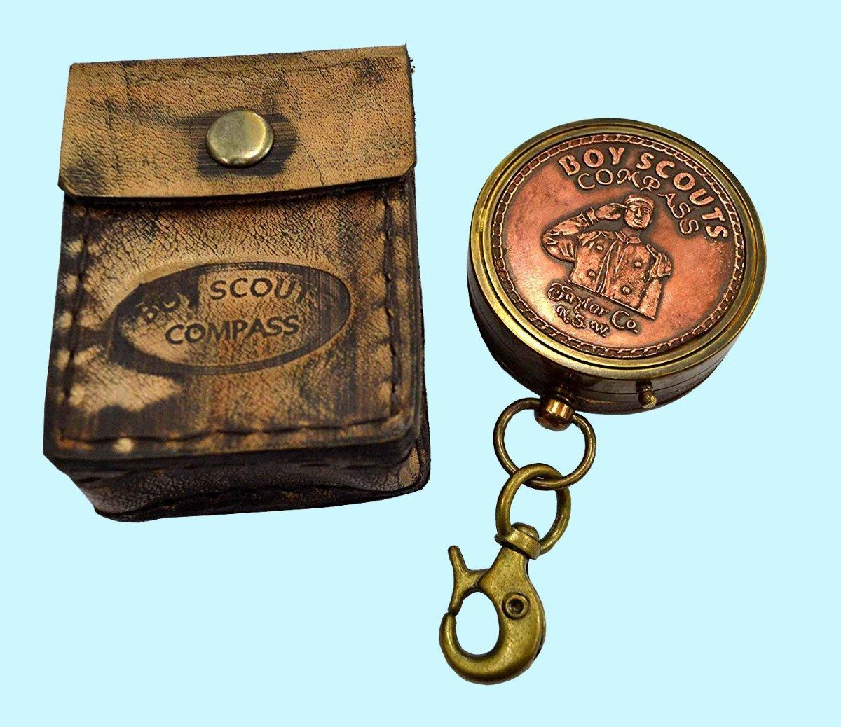 骨董品World Navigational Instrumentホーム飾りアンティークJaylor Co。k.s.w.ギフトアイテムソリッド銅&真鍮