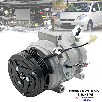 Amazon com: A/C Air Conditioning Compressor Serpentine Pulley For