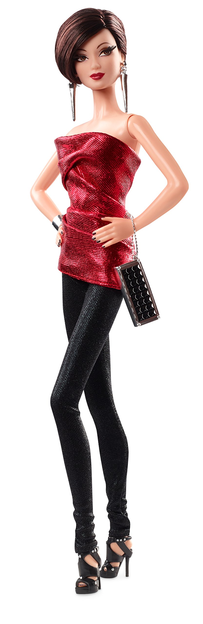 Barbie CJF51 Barbie: The Look Brunette Doll
