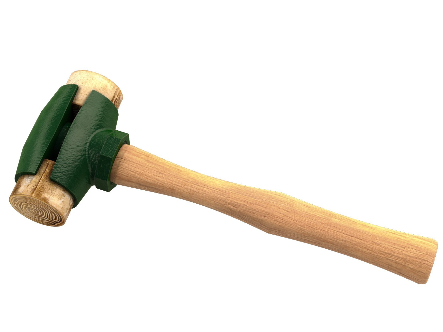 Garland 31003 2-3/4-Pound Rawhide Face Hammer with Wood Handle