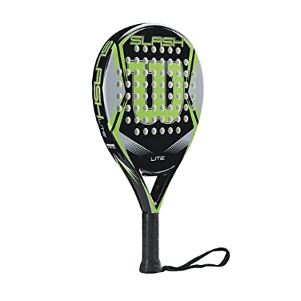 Amazon.com : Wilson Slash Lite Padel/POP Tennis Paddle (BK/GR) : Sports & Outdoors