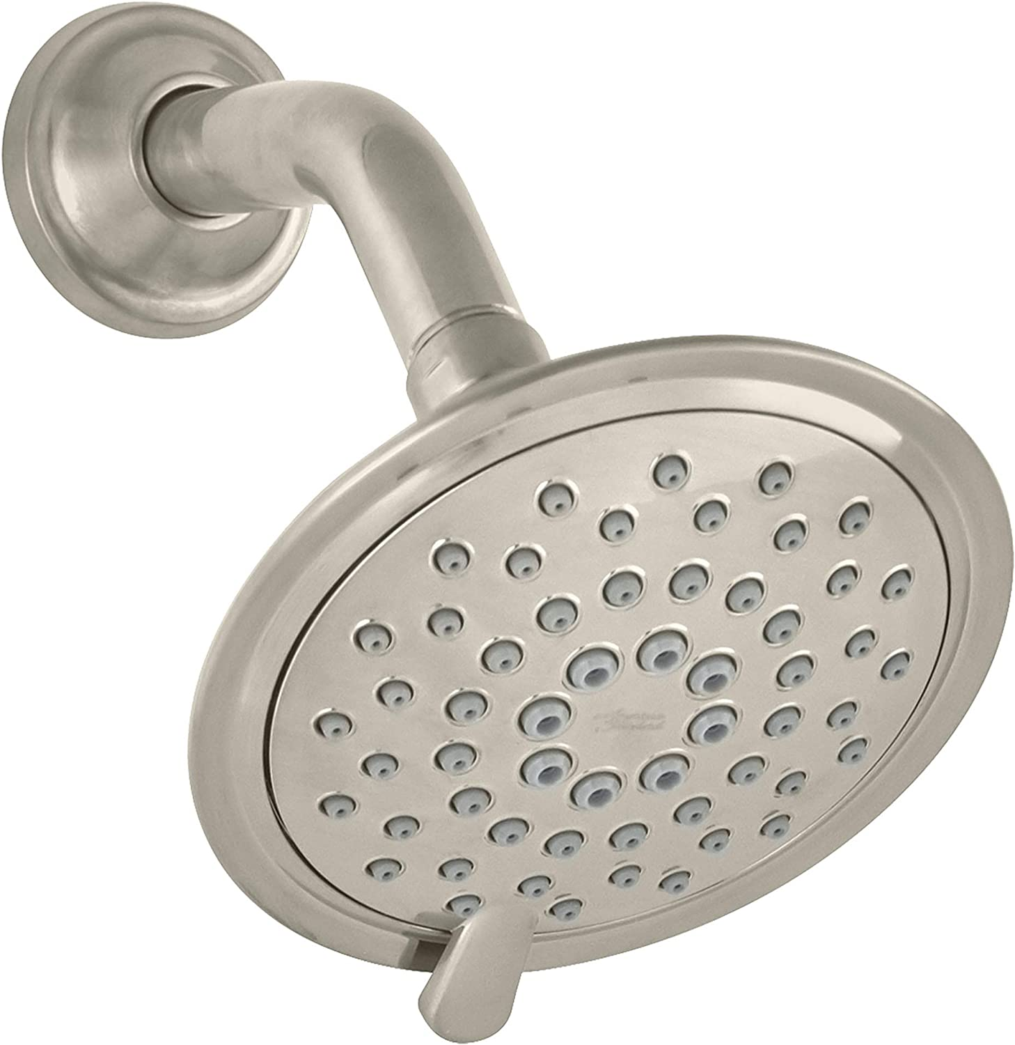 American Standard 1660739.295 3-Function Shower Head – 2.5 GPM, Brushed Nickel