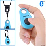 CamKix Camera Shutter Remote Control with Bluetooth® Wireless Technology - Lanyard with Detachable Ring Mount - Carabiner - Pictures and Video from up to 30 ft (10 m) Compatible with iPhone/Android