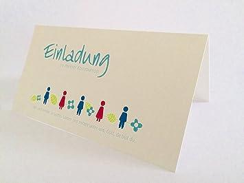 Hochwertige Einladungskarten Zur Kommunion Aus Naturpapier 5 Stück (Kinder)  U201eEinladung Zu Meiner Kommunion