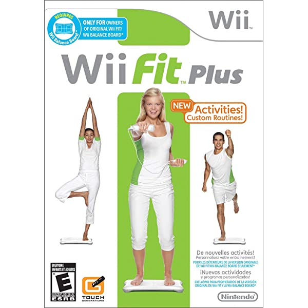 Amazon.com: WII FIT PLUS (BALANCE BOARD NOT INCLUDED) : Video Games