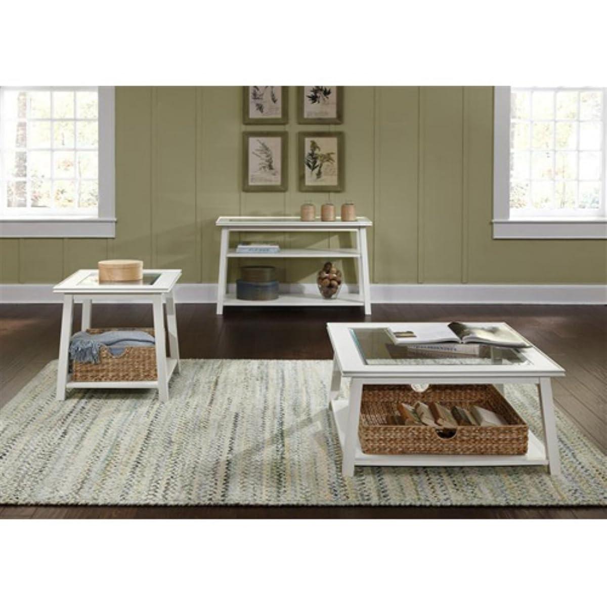 Summerhill Square Linen Coffee Table
