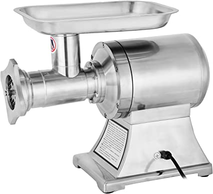 KITGARN Meat Mincer 1100W Electric Meat Grinder 1.5HP 220PRM Stainless Steel Meat Grinder Commercial Sausage Stuffer Maker for Industrial and Home Use