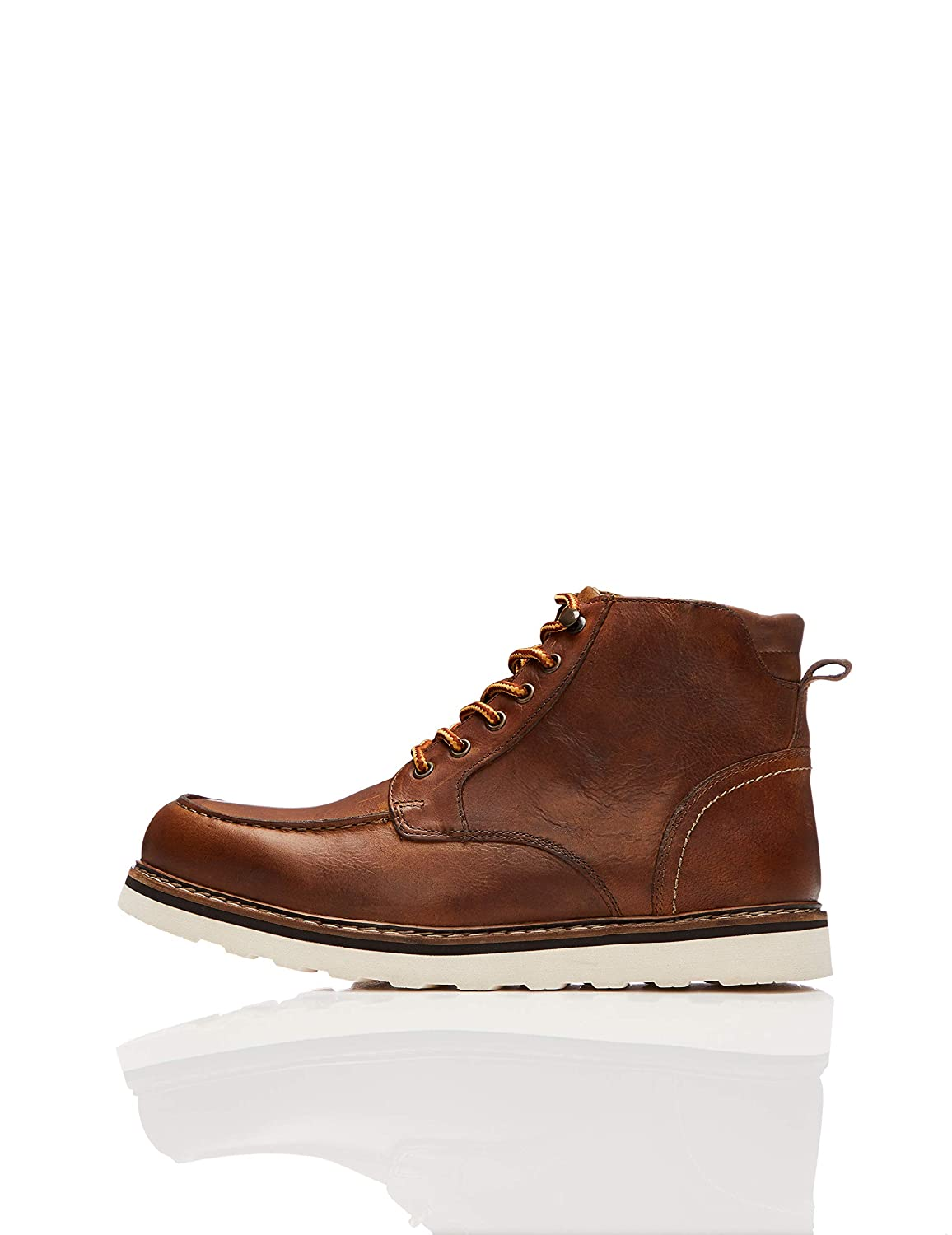 TALLA 45 EU. find. Leather Apron, Botas Chukka Hombre