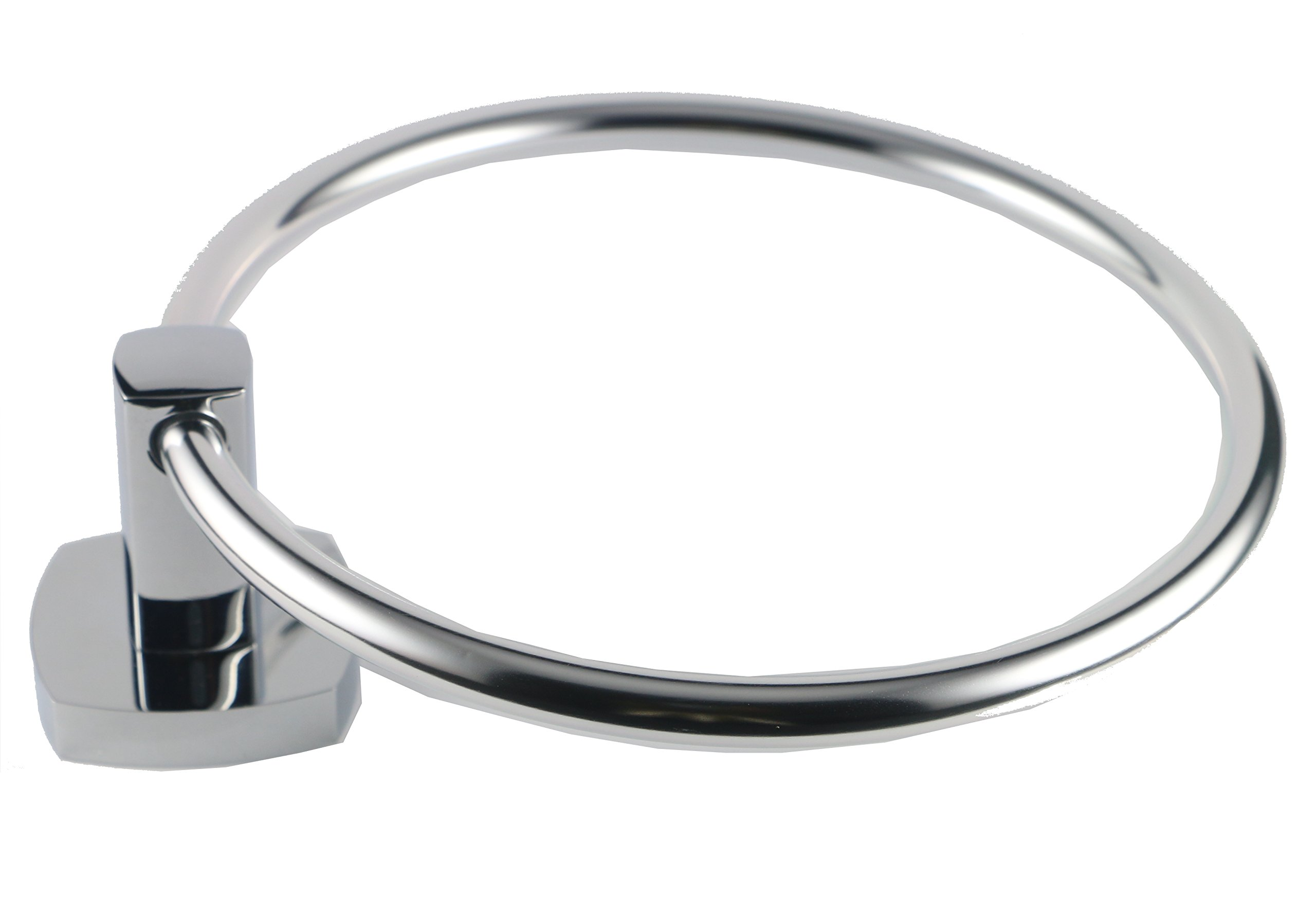 RN-Purity Purity Hand Towel Ring Stainless Steel,Bathroom Towel Ring, Chrome