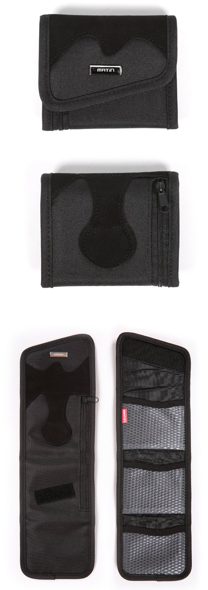 Matin Deluxe Filter Case Wallet - Large : 3pcs Under 67-82mm Filters