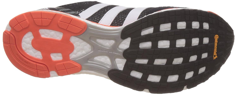 adidas Adizero Adios M, Zapatos para Correr para Hombre, Negro (Cblack/ftwwht/eneora), 48 EU: Amazon.es: Zapatos y complementos