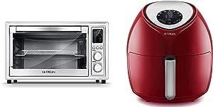 Ultrean 8.5 Quart Air Fryer and 32 Quart Toaster Oven