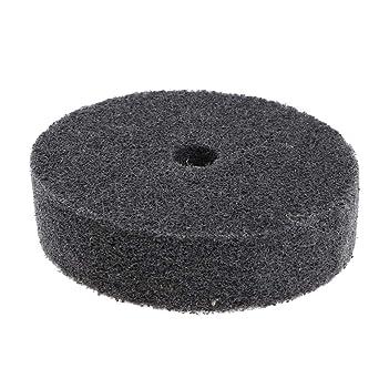 3-pack 3inch Fiber Polishing Wheel Metal Dust Remove for Bench Grinder