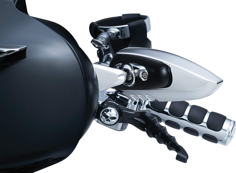 Kuryakyn 1818 Chrome Motorcycle Handlebar Accessorie 2 Pack