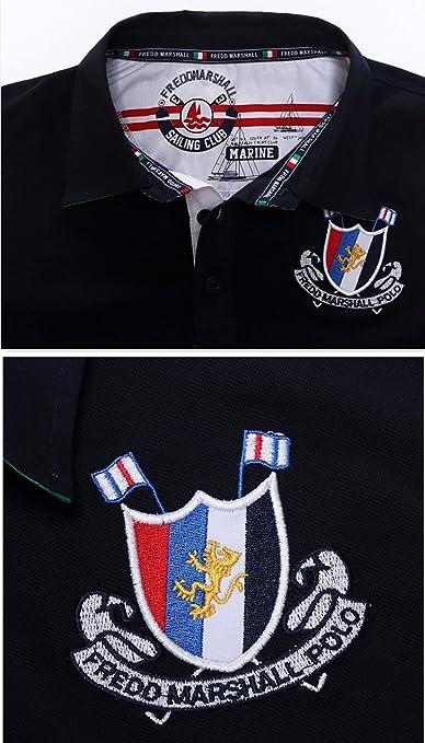 Oushiny Mens Adjustable Long Sleeve Cotton Striped Shirt 3 Colors 4 Sizes