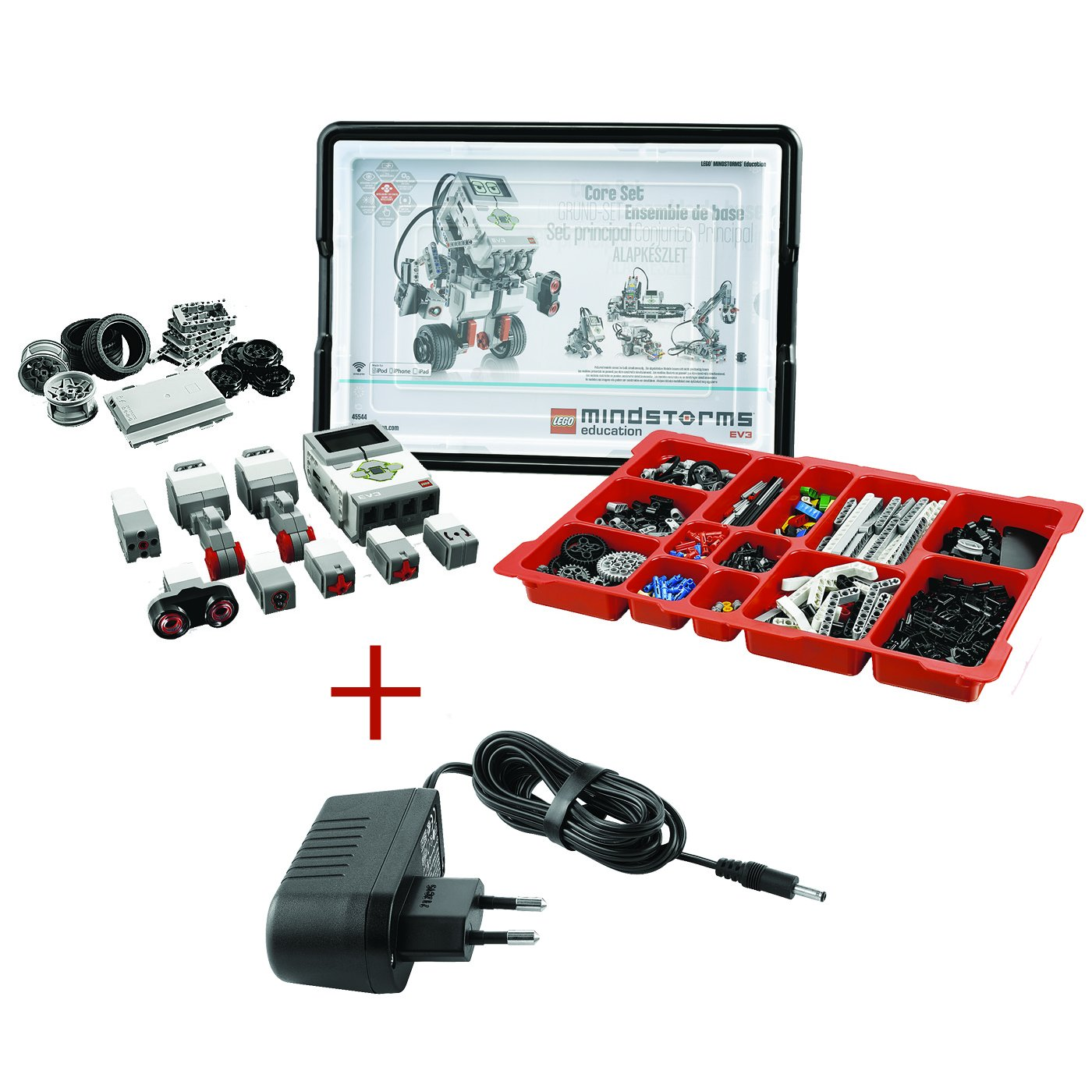 New LEGO Mindstorms EV3 Lithium Ion Rechargeable DC Battery 45501 for 31313 Set