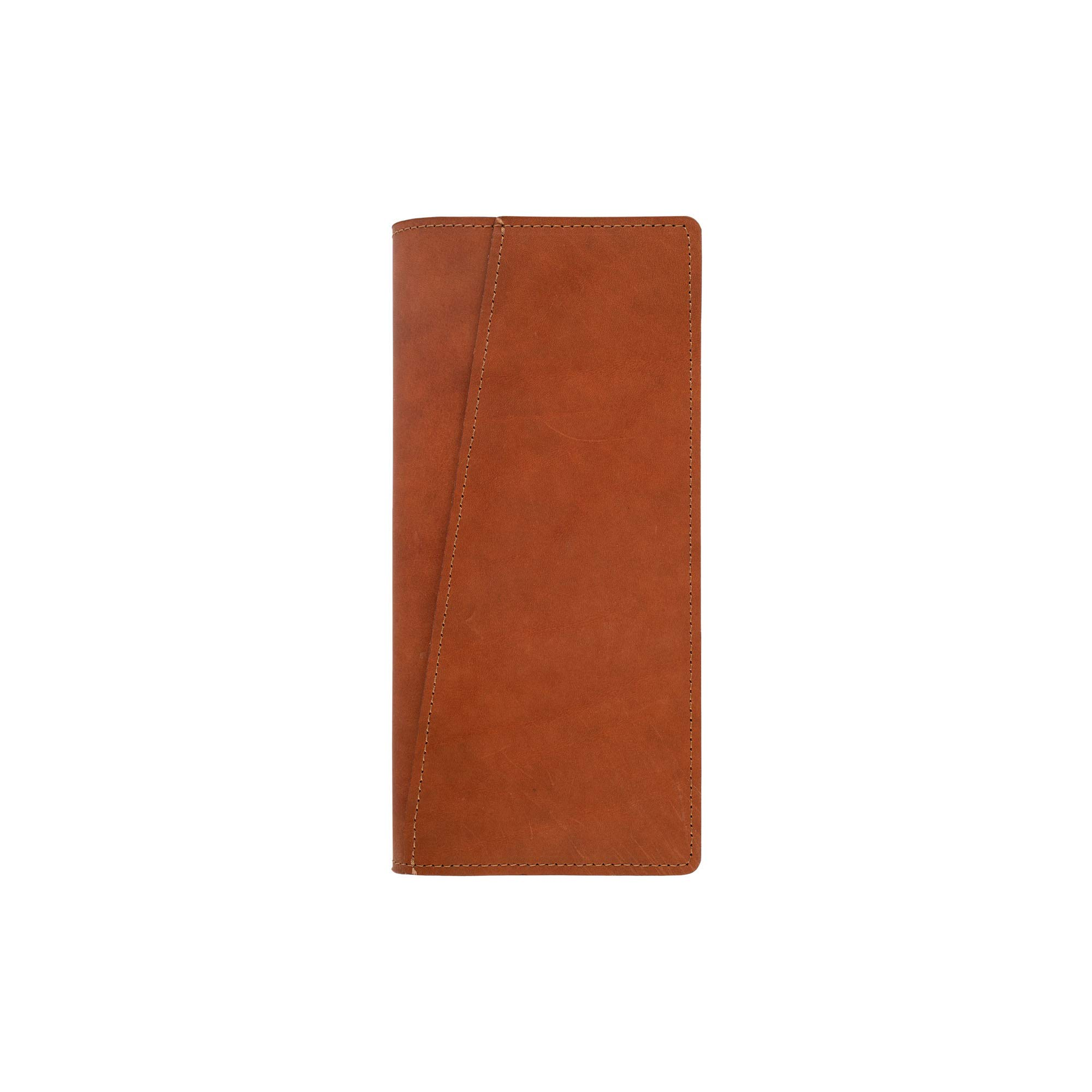 SLATE COLLECTION Lakeway Travel Wallet, Full-grain Leather (Cognac)