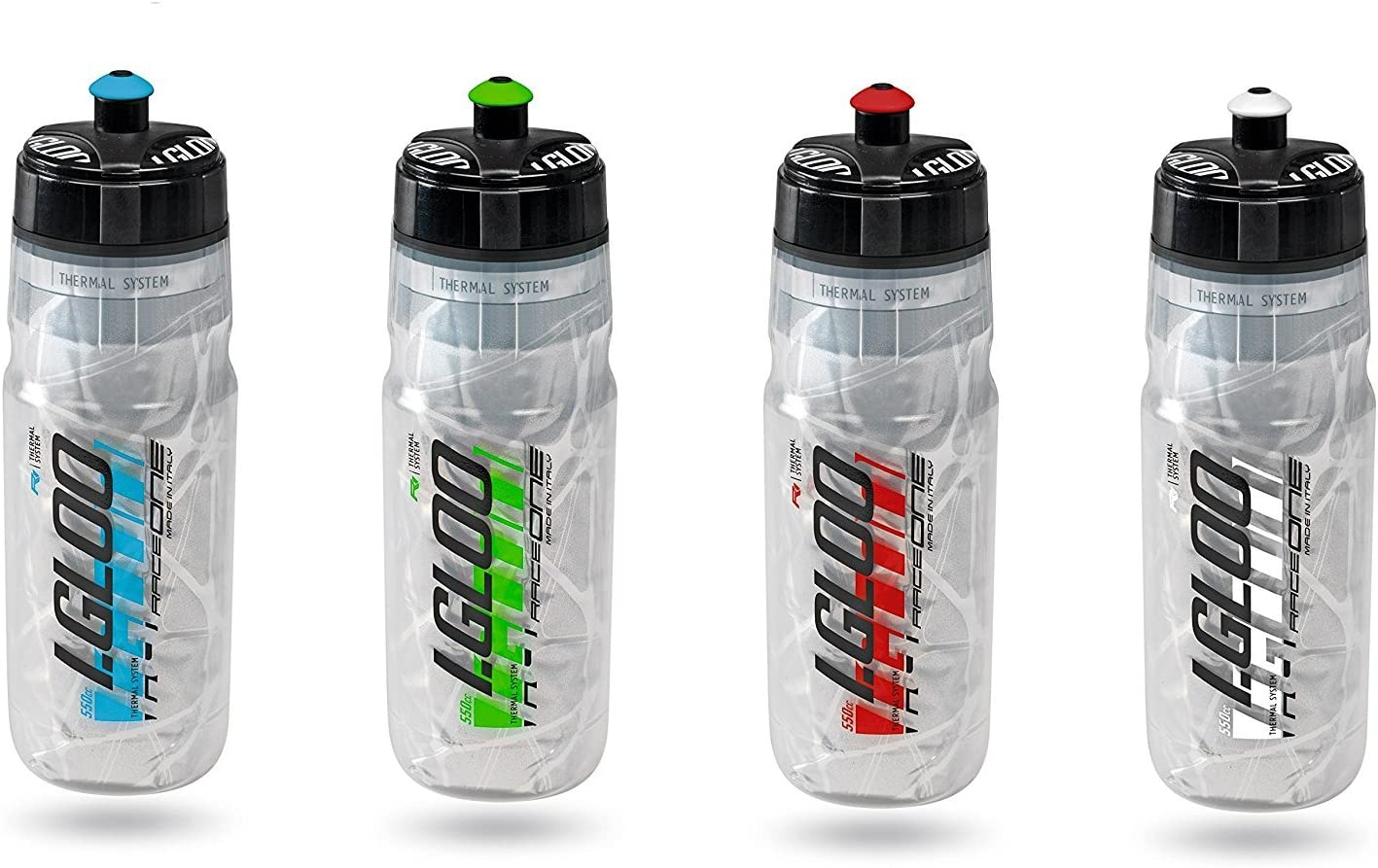 RaceOne R1 Igloo 550cc Botella de Agua 550 ml, Unisex Adulto ...
