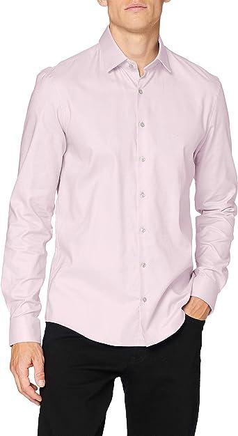 Tommy Hilfiger Bari Slim Fit FTC Camisa para Hombre: Amazon.es: Ropa y accesorios