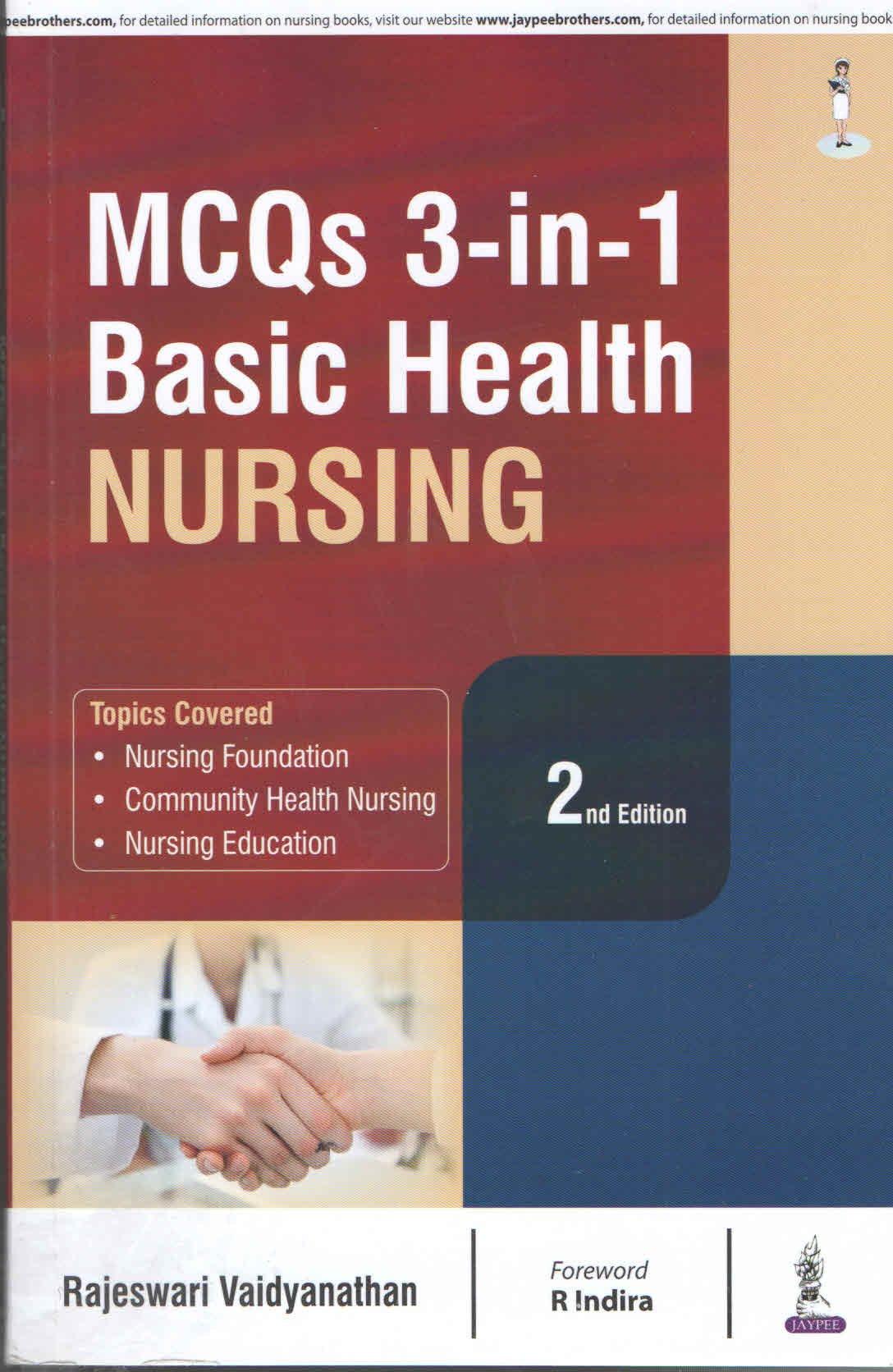 mcq nursing education