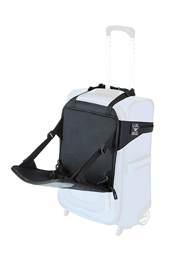 Lugabug Travel Seat - The Most Convenient Airport Carrier
