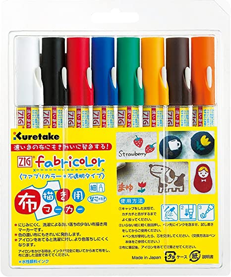 Kuretake ZIG Scroll /& Brush Basic 6VTC-5000//6V japan import