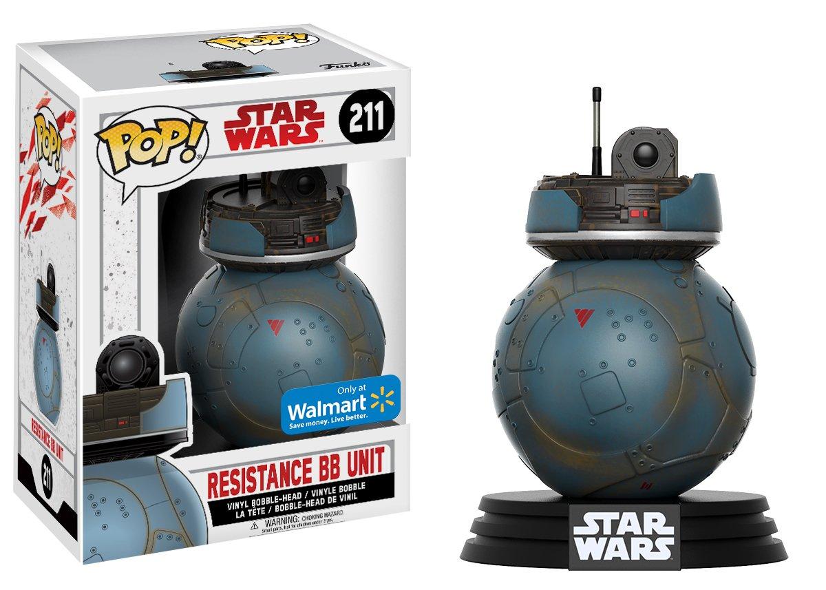 Resistance BB Unit #211 Vinyl Figure Bundled with Pop BOX PROTECTOR CASE Star Wars: The Last Jedi Funko Pop